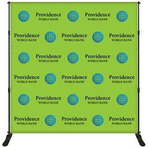 8' x 8' Backdrop Banner Kit